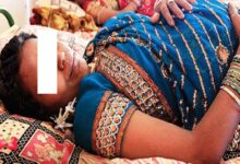 صورة رجل يشق بطن زوجته الحامل لمعرفة نوع الجنين!