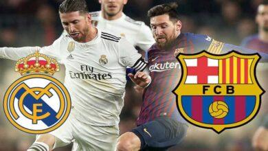 صورة توقعات: كلاسيكو ريال مدريد وبرشلونة سيخيب آمال عشاقه غدًا