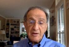 صورة جيمس زغبي يتحدث عن السباق الرئاسي وأسباب الانقسام في أمريكا