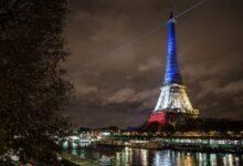 صورة طعن سيدتين محجبتين في باريس ومسلمون يشتكون ماكرون للأمم المتحدة