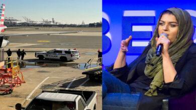 طرد مسلمة ومرشحة سابقة للكونجرس من طائرة أمريكية واعتقالها