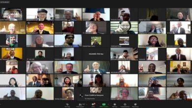 560 ممثلًا عن 31 ديانة يجتمعون من أجل التضامن في أزمة الوباء