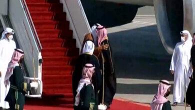 عناق تميم وبن سلمان يتوج اتفاق المصالحة الخليجية
