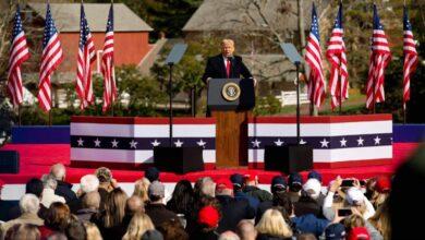 ترامب يلقي أول خطاب له كرئيس سابق الأحد القادم بفلوريدا