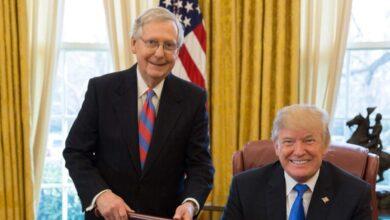 ترامب يدعو الجمهوريين إلى عزل زعيمهم في مجلس الشيوخ